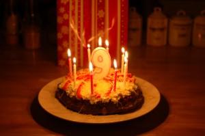 Milka's Geburtstagstorte