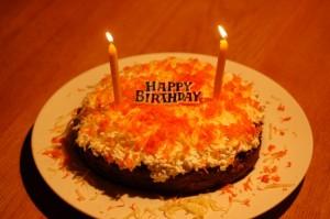 Budrys' Geburtstagstorte